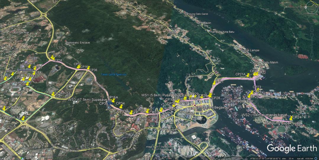 sme run - 21km route